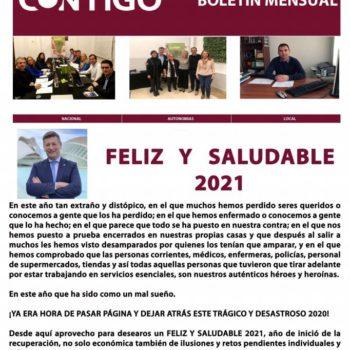 Boletín de Contigo Somos Democracia de Diciembre de 2020