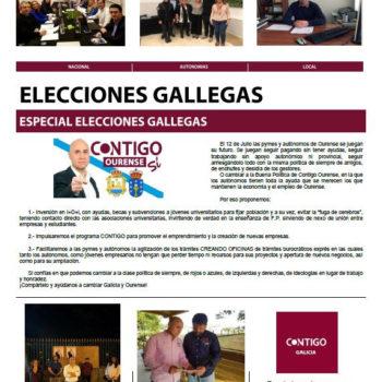 Boletín informativo de Contigo de Junio de 2020