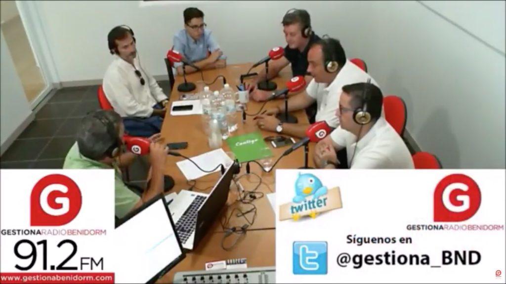 Ejecutiva Nacional de Contigo Somos Democracia en Gestiona Radio (Benidorm)