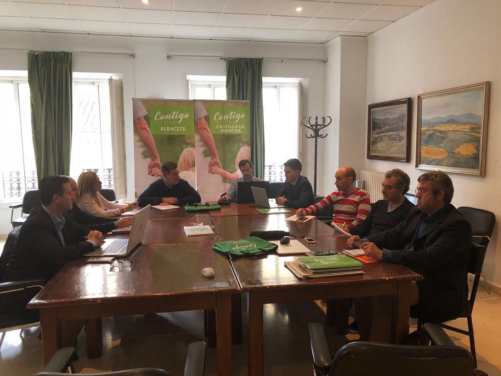 CONTIGO prepara las elecciones municipales, autonómicas y europeas