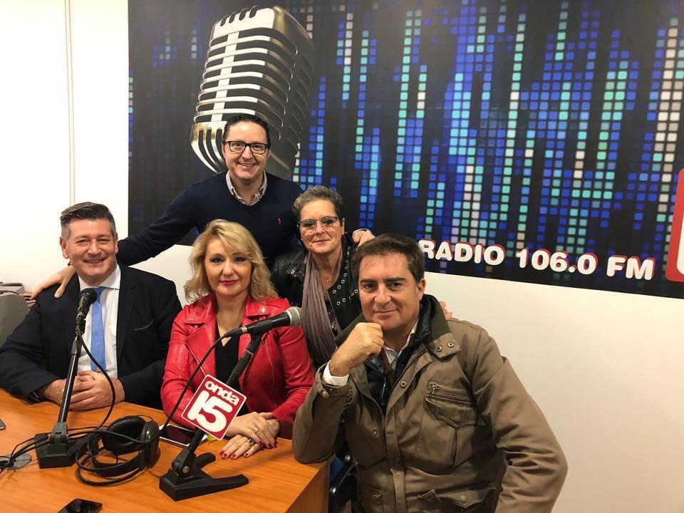 Contigo Somos Democracia. Entrevista en Radio 15 (Castalla)