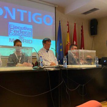 José Enrique Aguar en el II Congreso de la Federación de Madrid