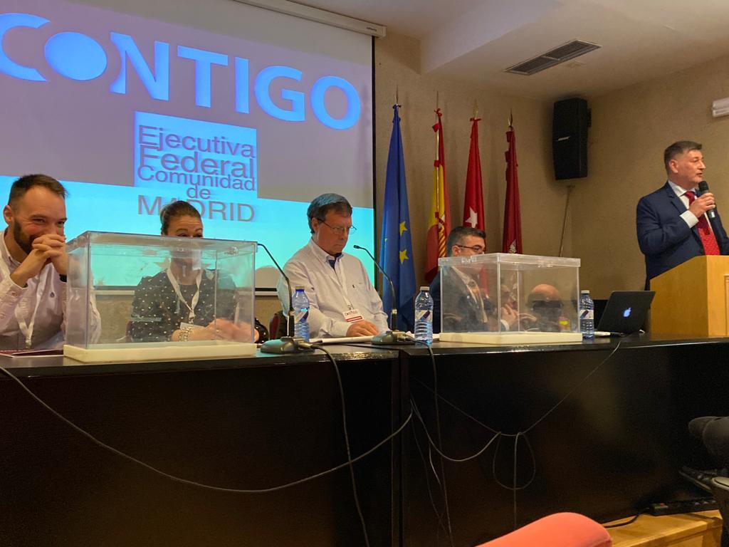 Nuevo Presidente y Ejecutiva de la Federación de Madrid