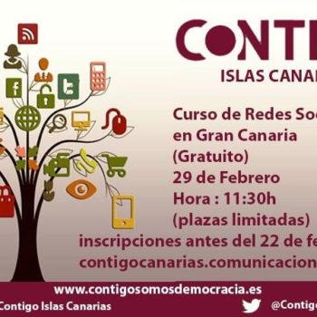 Curso de Redes Sociales de Contigo Islas Canarias