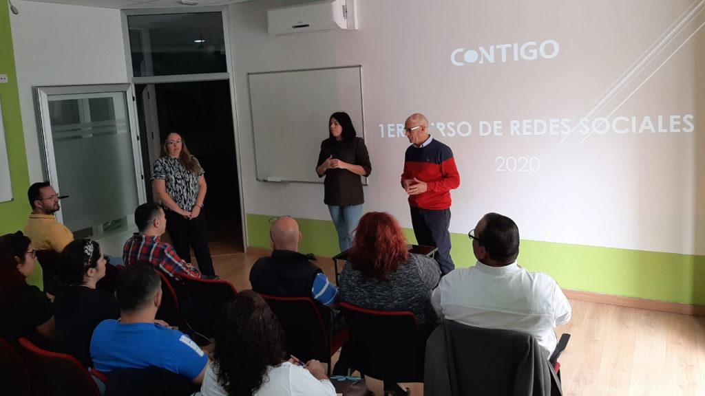 Curso de Redes Sociales de Contigo Islas Canarias con Matías Hernández