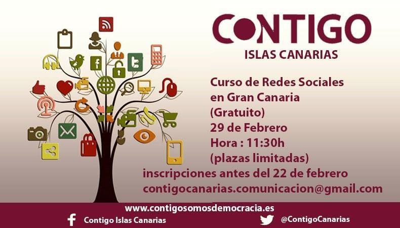 Curso de Redes Sociales en Contigo Islas Canarias