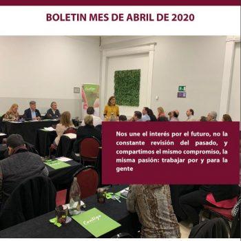 Boletín Contigo de Abril de 2.020