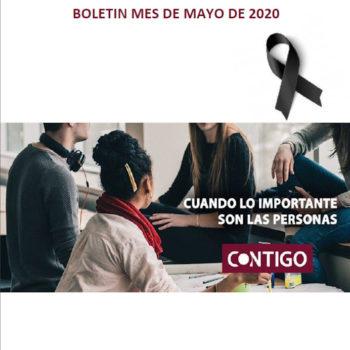Boletín Contigo de Mayo de 2020