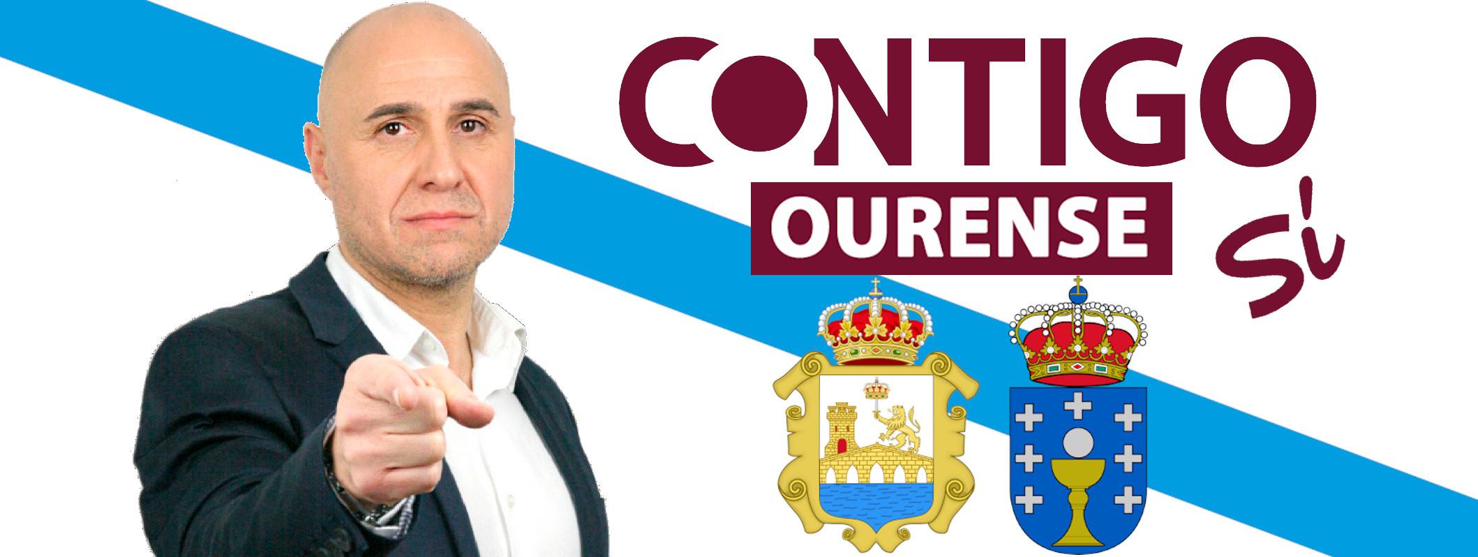 Sito del Valle, Candidato de Contigo Ourense